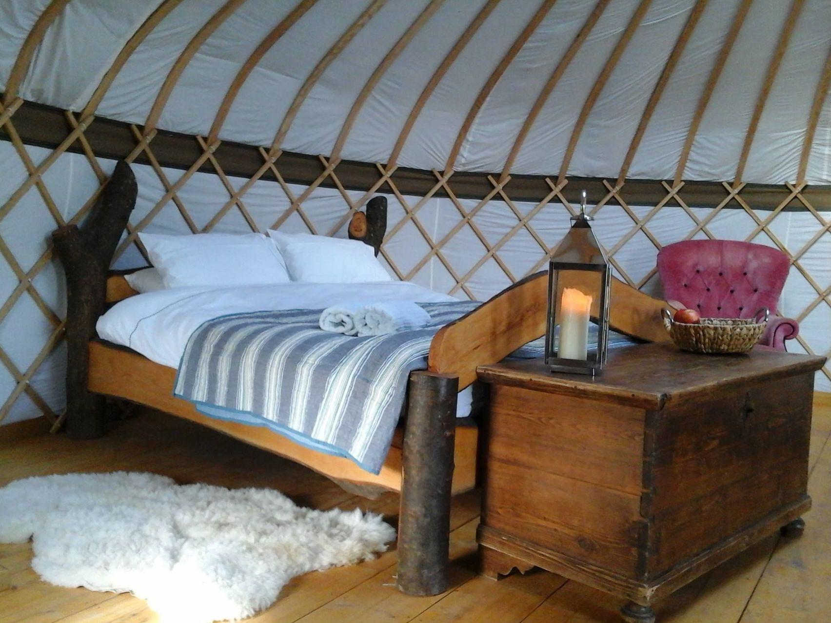 Glamping site , Surrey Hills Yurts