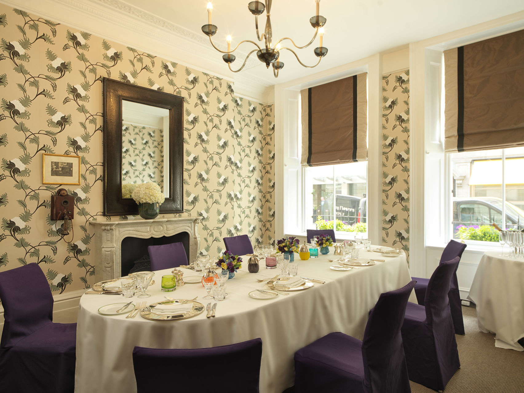 The Graham Bell Room, Brown's Hotel Mayfair