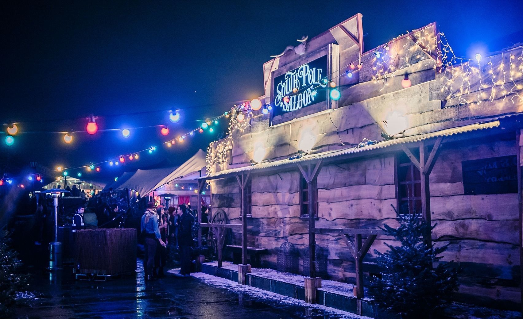 South Pole Saloon , Brixton Rooftop