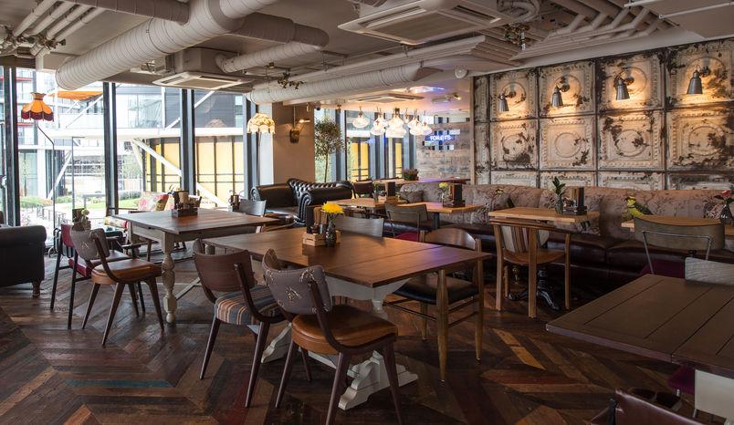 Downstairs Area Left , Nine Elms Tavern