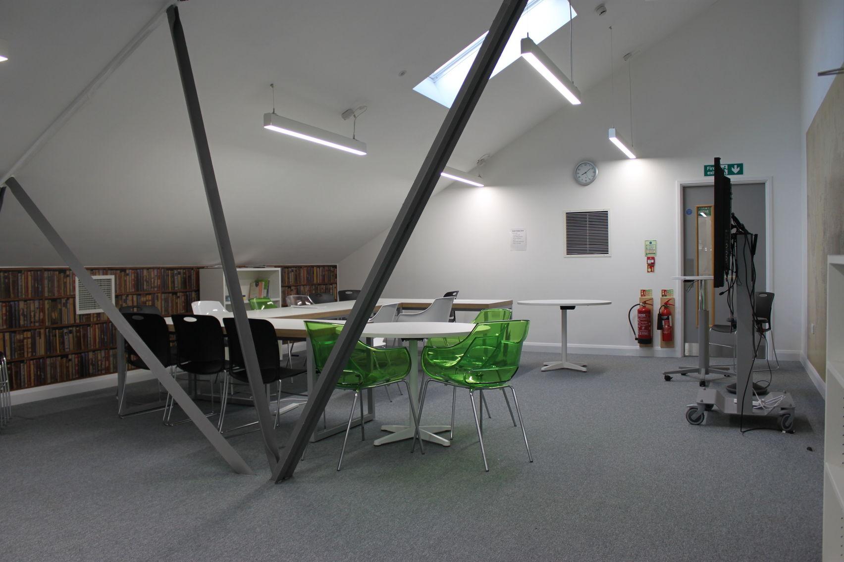 Mezzanine floor , Ada National College for Digital Skills