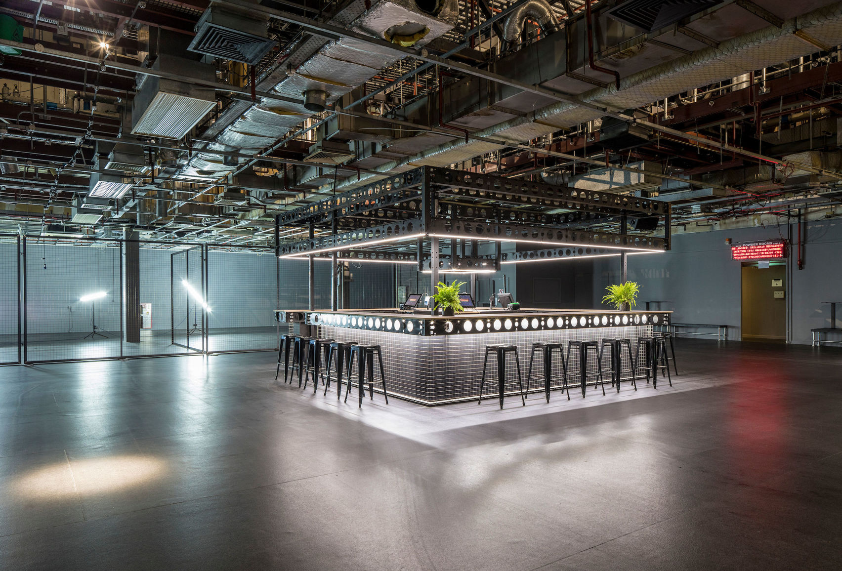 Control Room, Printworks London (Created by Venue Lab)