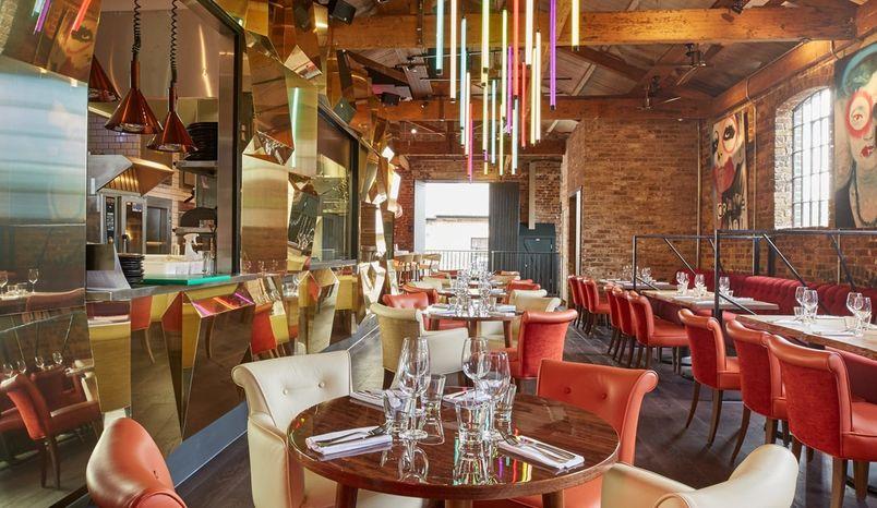 Ground Floor & Terrace and First Floor Restaurant, Gabeto