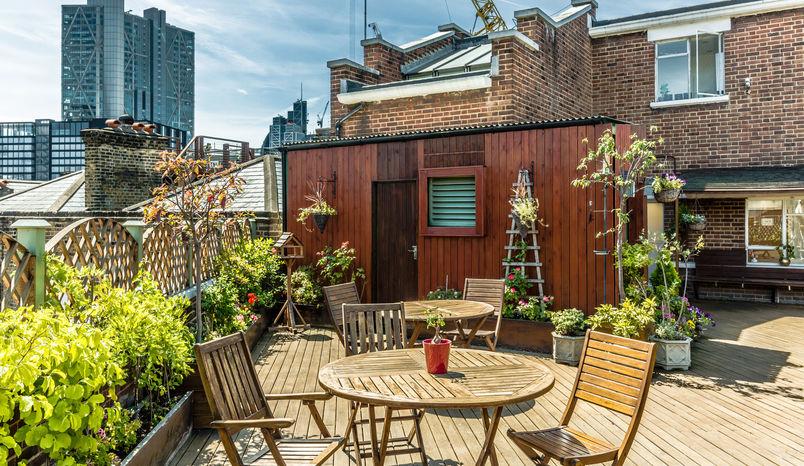 Roof Garden, Proper Office
