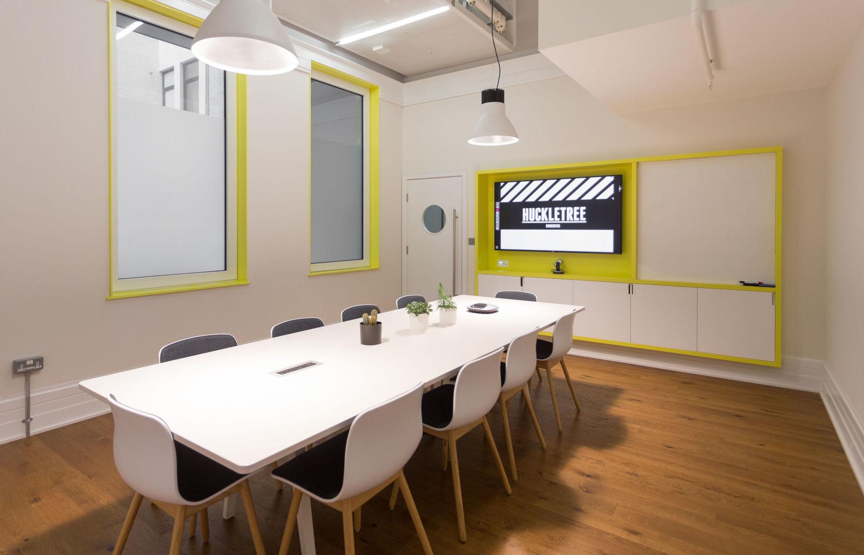 Menlo Meeting Room, Huckletree Shoreditch