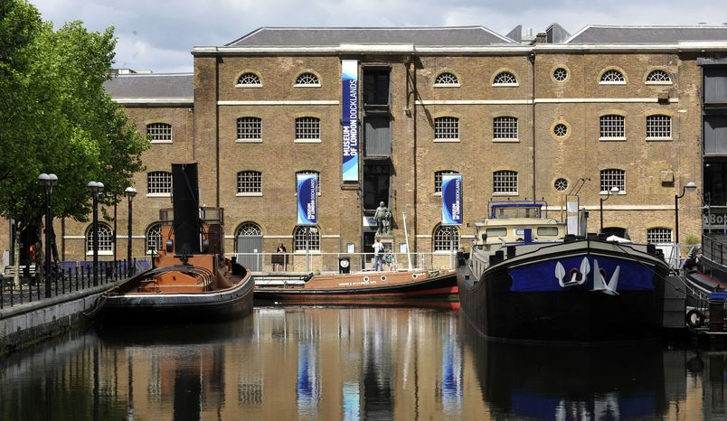 Muscovado Hall and Terrace, Museum of London Docklands