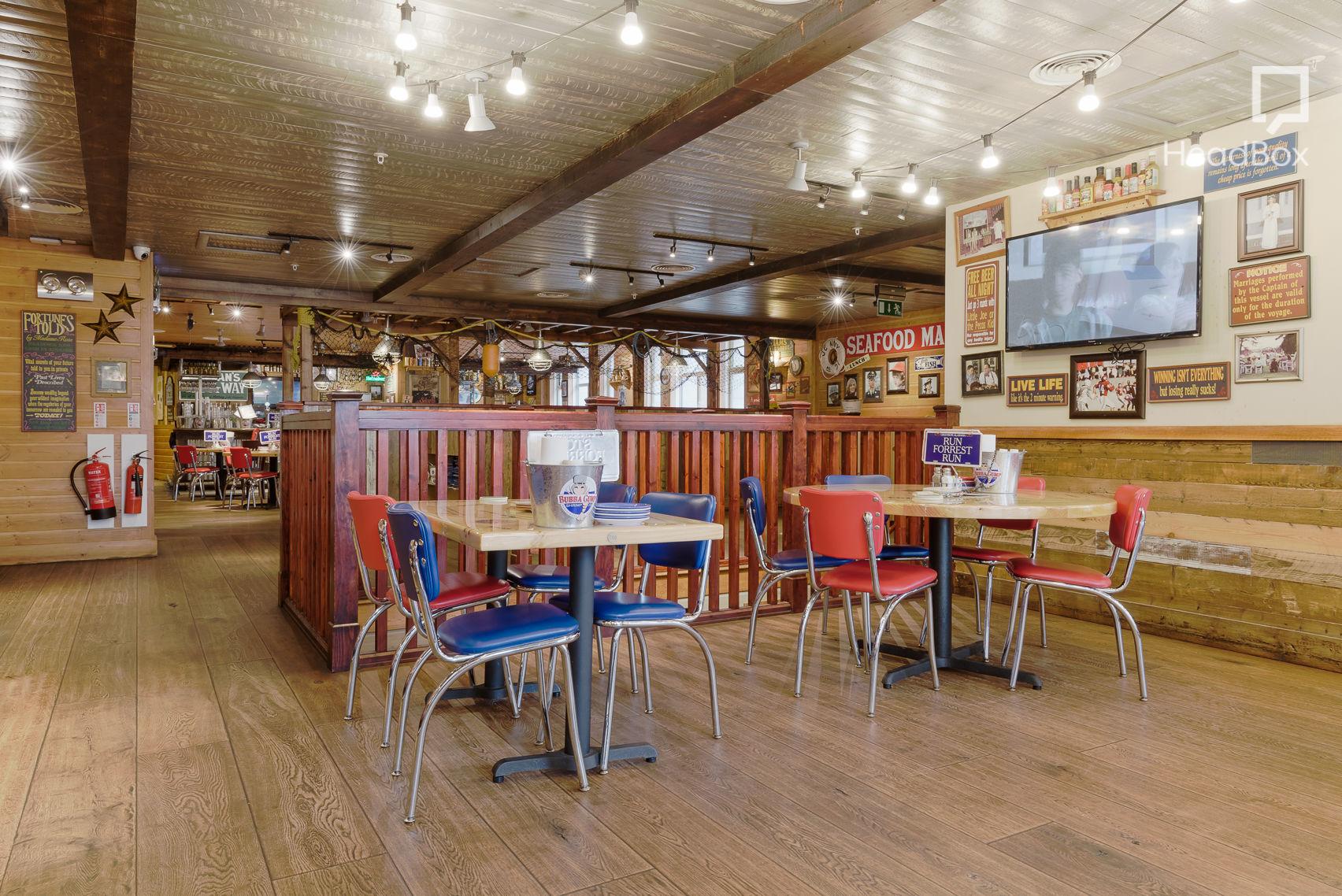 Exclusive Venue Hire, Bubba Gump Shrimp Company
