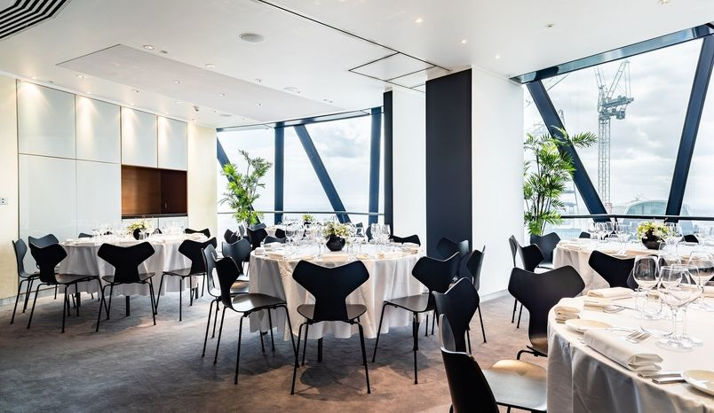 The Cirrostratus OR the Altocumulus Room, Searcys at The Gherkin
