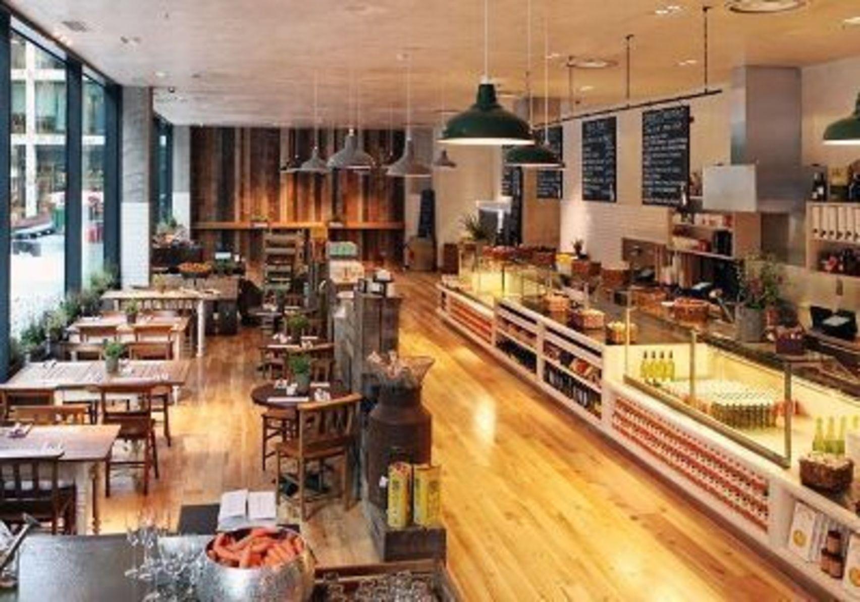 Evening Hire, Deli & Restaurant Area, TNK Fetter Lane