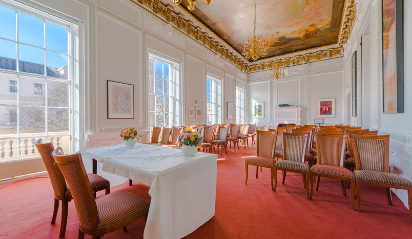 Lecture Room, {10-11} Carlton House Terrace
