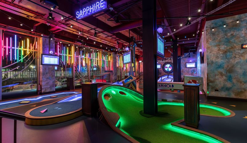 Sapphire Course, Puttshack
