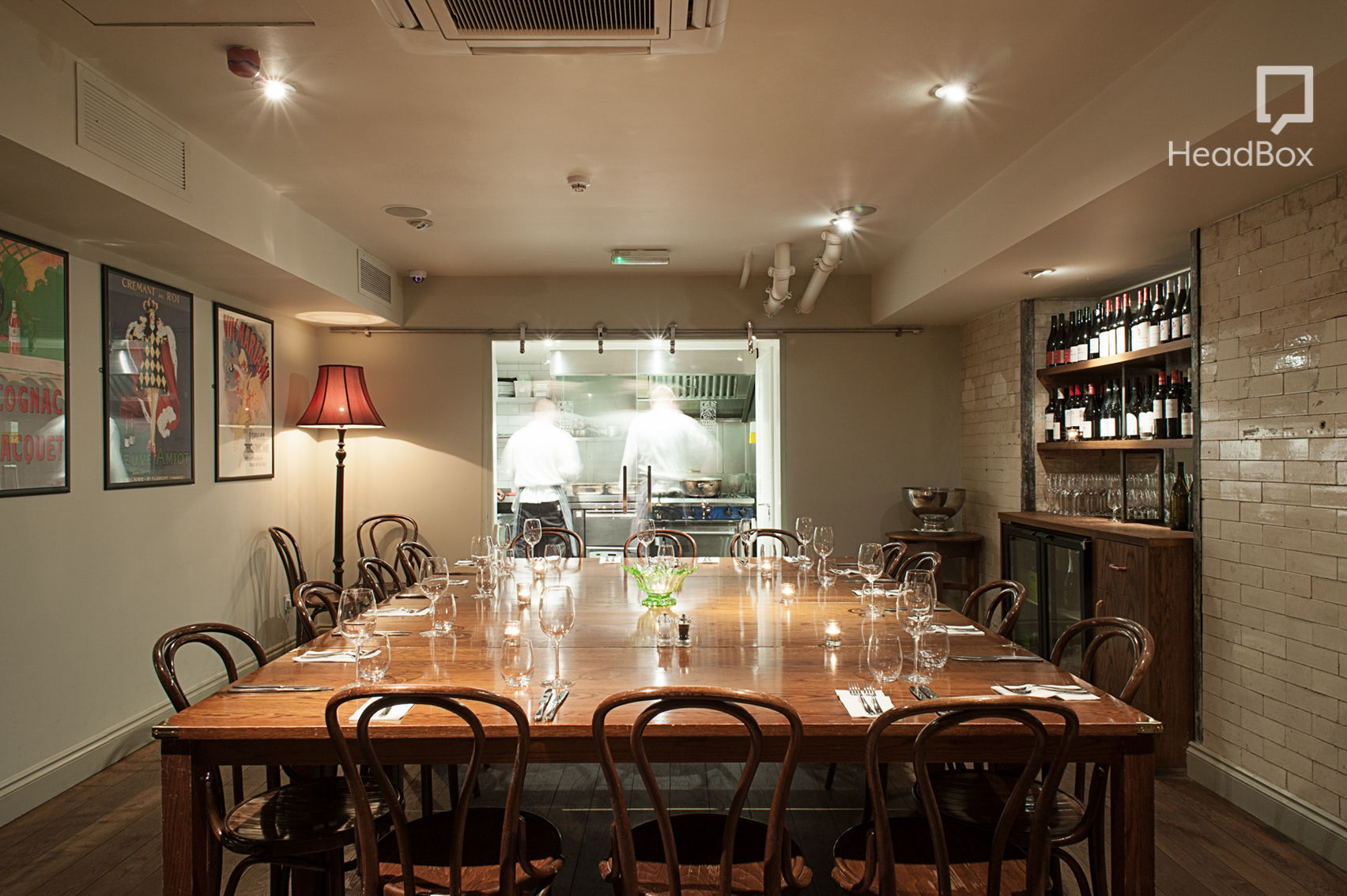 Private Room, lunch sitting, Vinoteca Farringdon