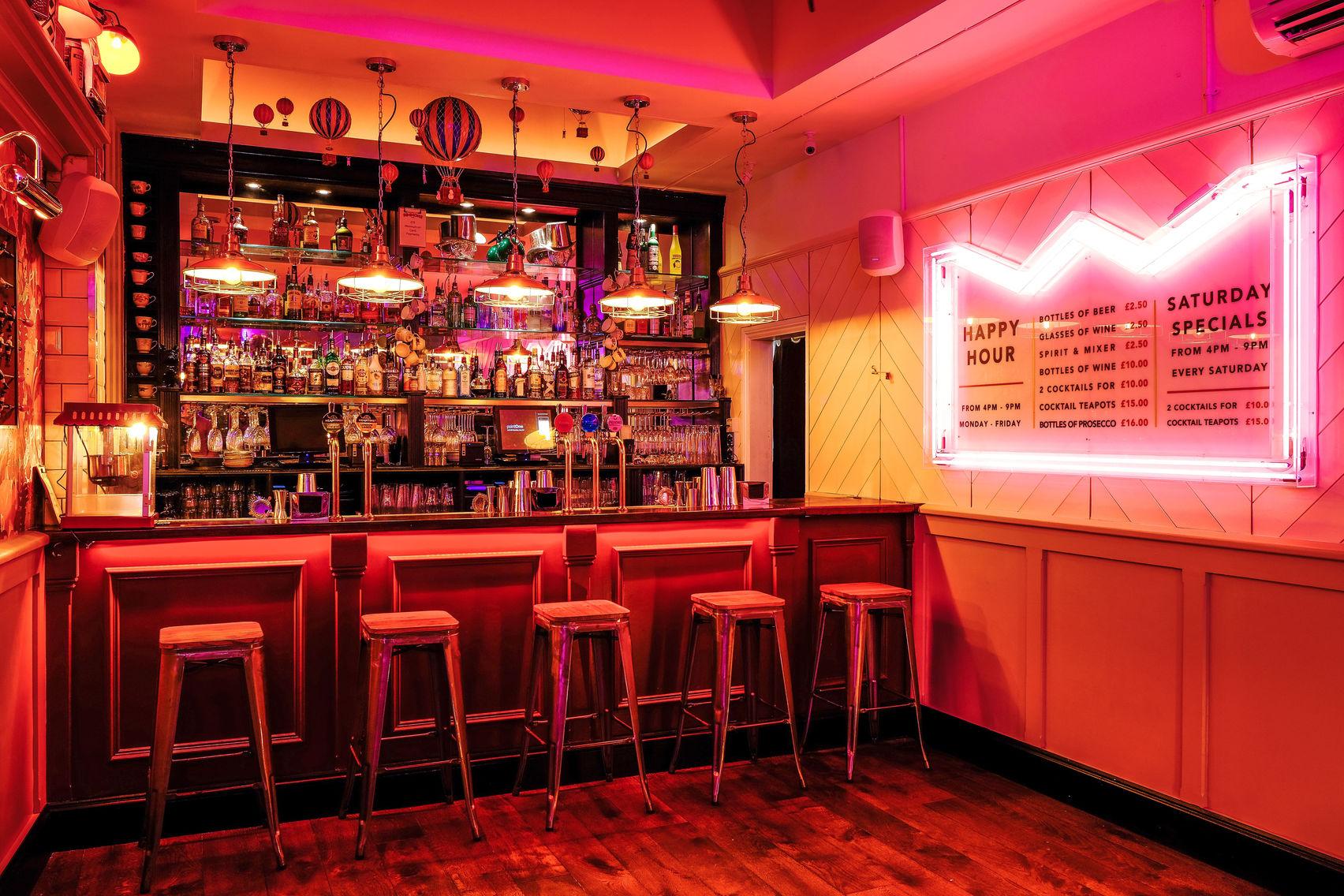 Full venue Hire, Simmons Bar | Farringdon