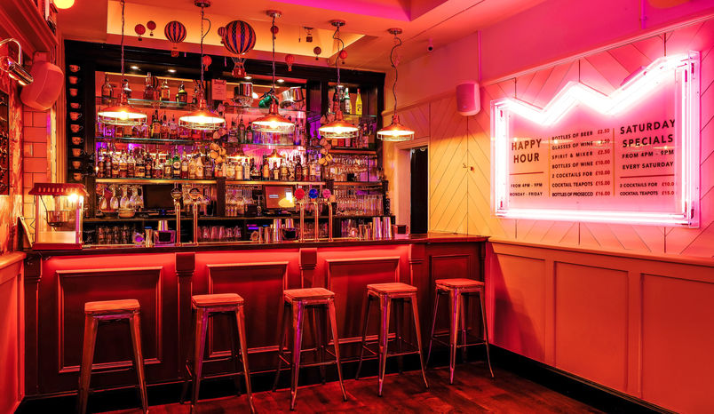 Full venue Hire, Simmons Bar | Farringdon