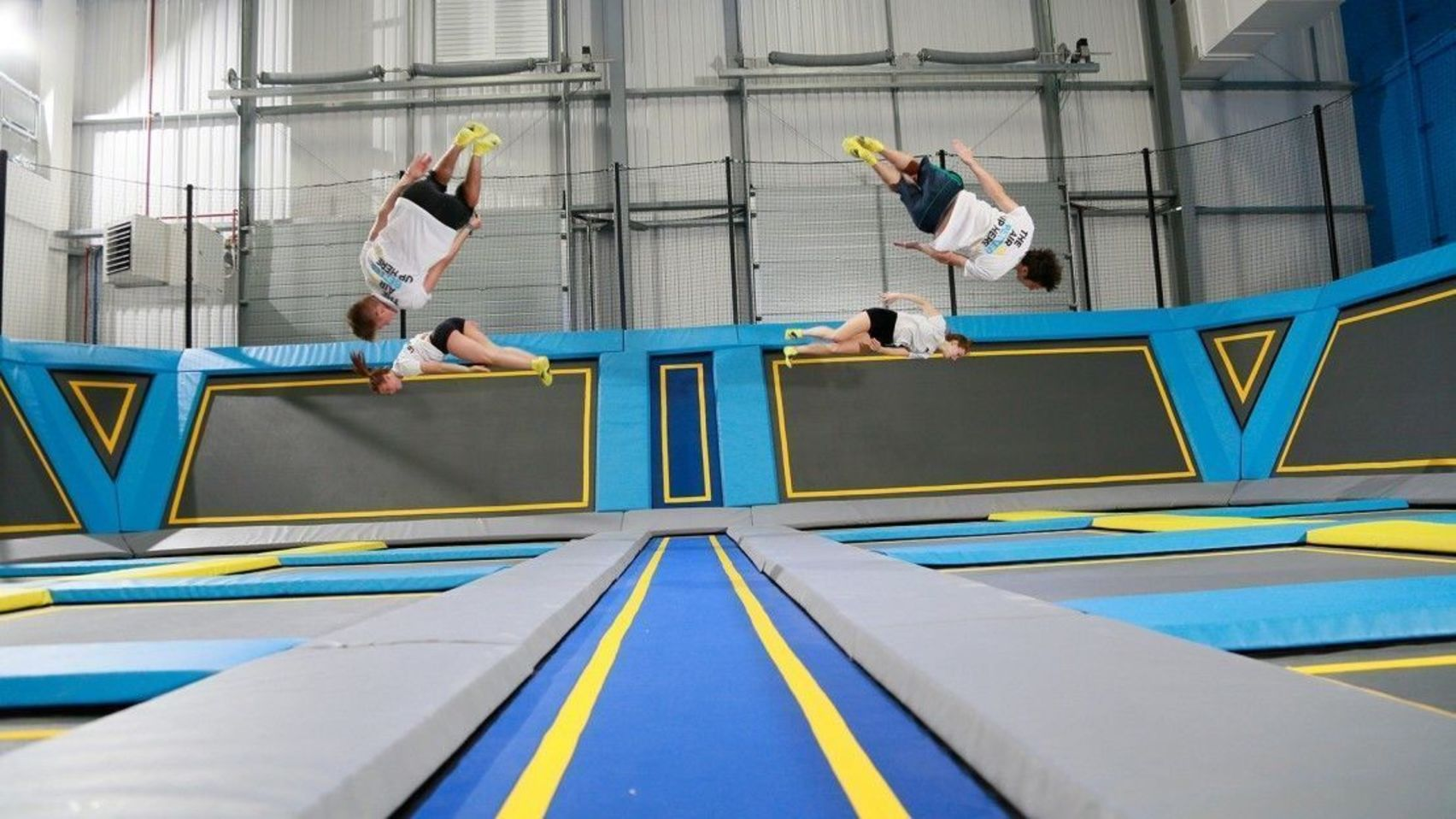 Free Jumping, Exclusive Hire, Oxygen Free Jumping
