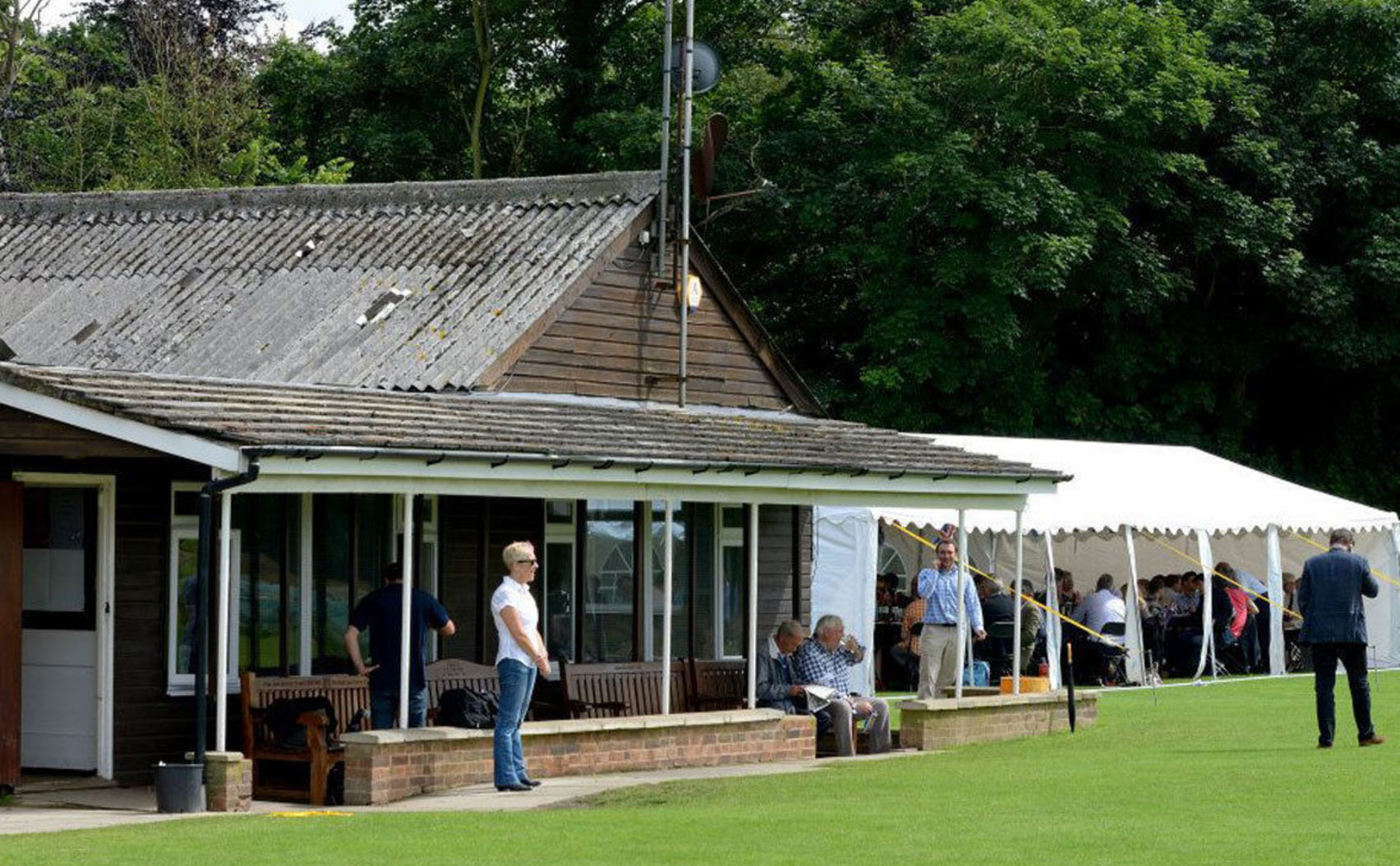 Club House, Marquee and Cricket Pitch - Full Day, Teddington Cricket Club