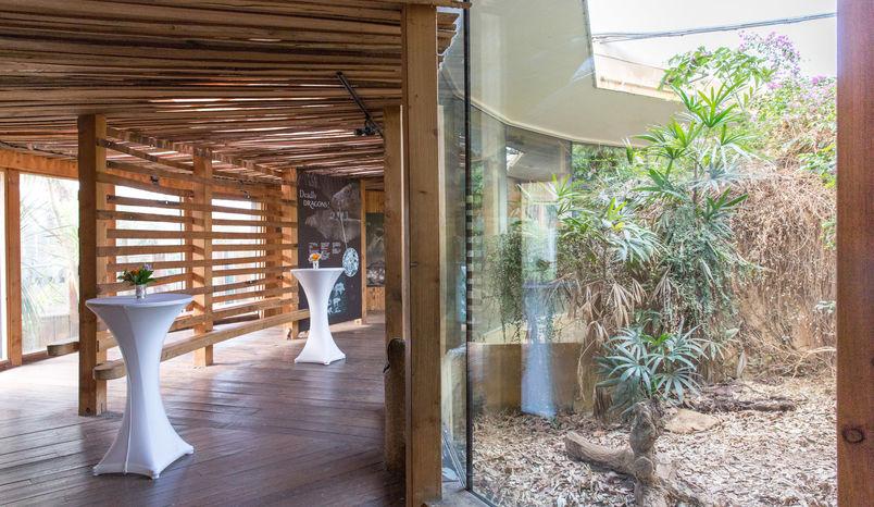 The Attenborough Komodo Dragon house, ZSL London Zoo