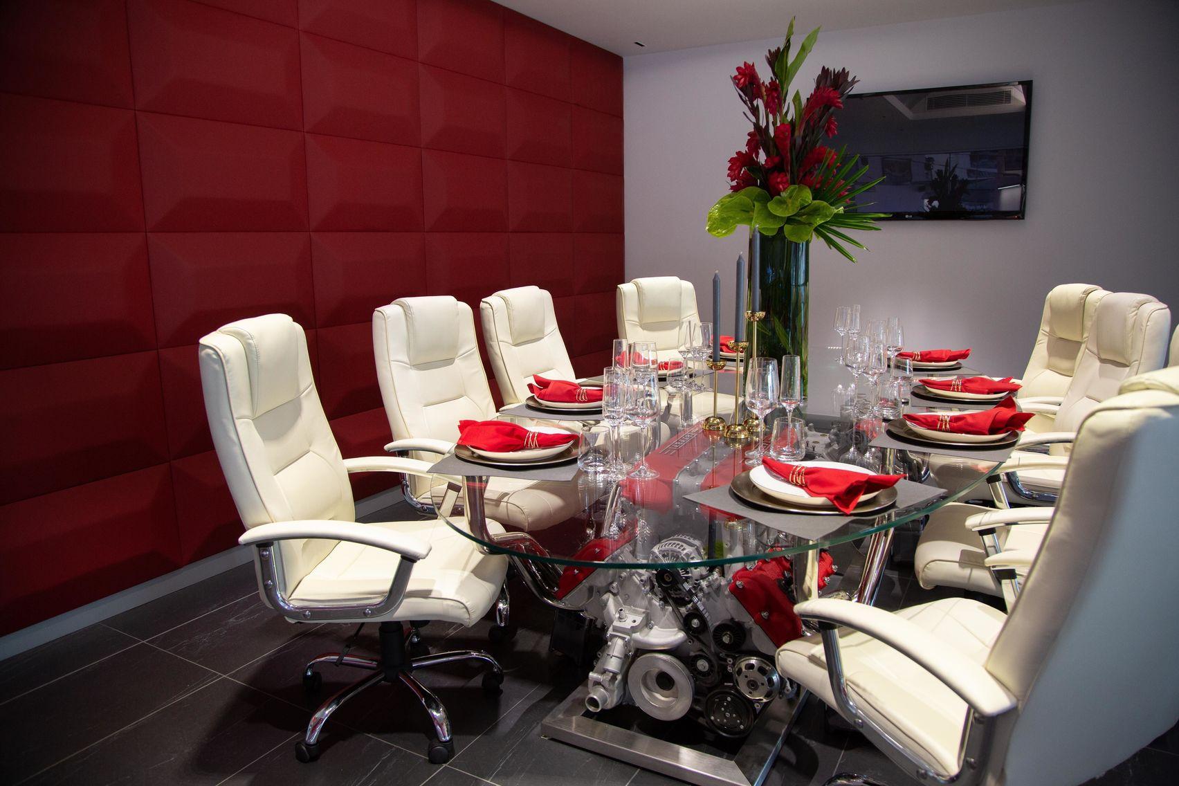 Boardroom, Joe Macari Showroom