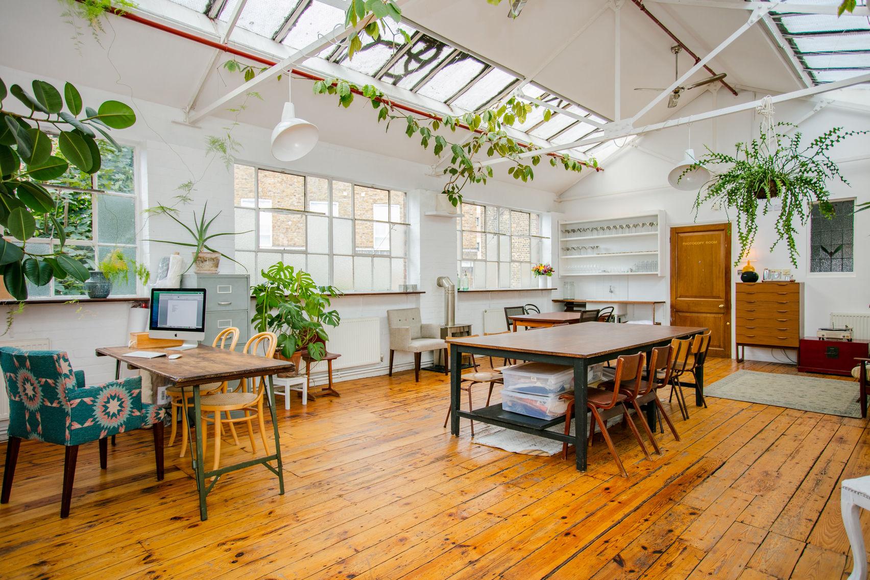 Photographic studio and studio kitchen, Cocina Shoreditch