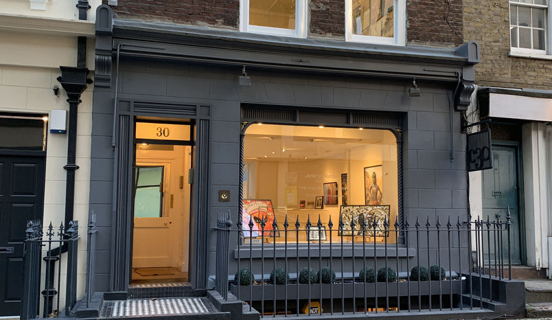 Three Adjoining Gallery Display Rooms, The Coningsby Gallery
