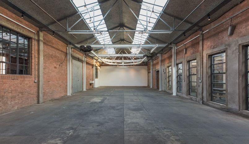 Events space Atrium, Hoxton Docks