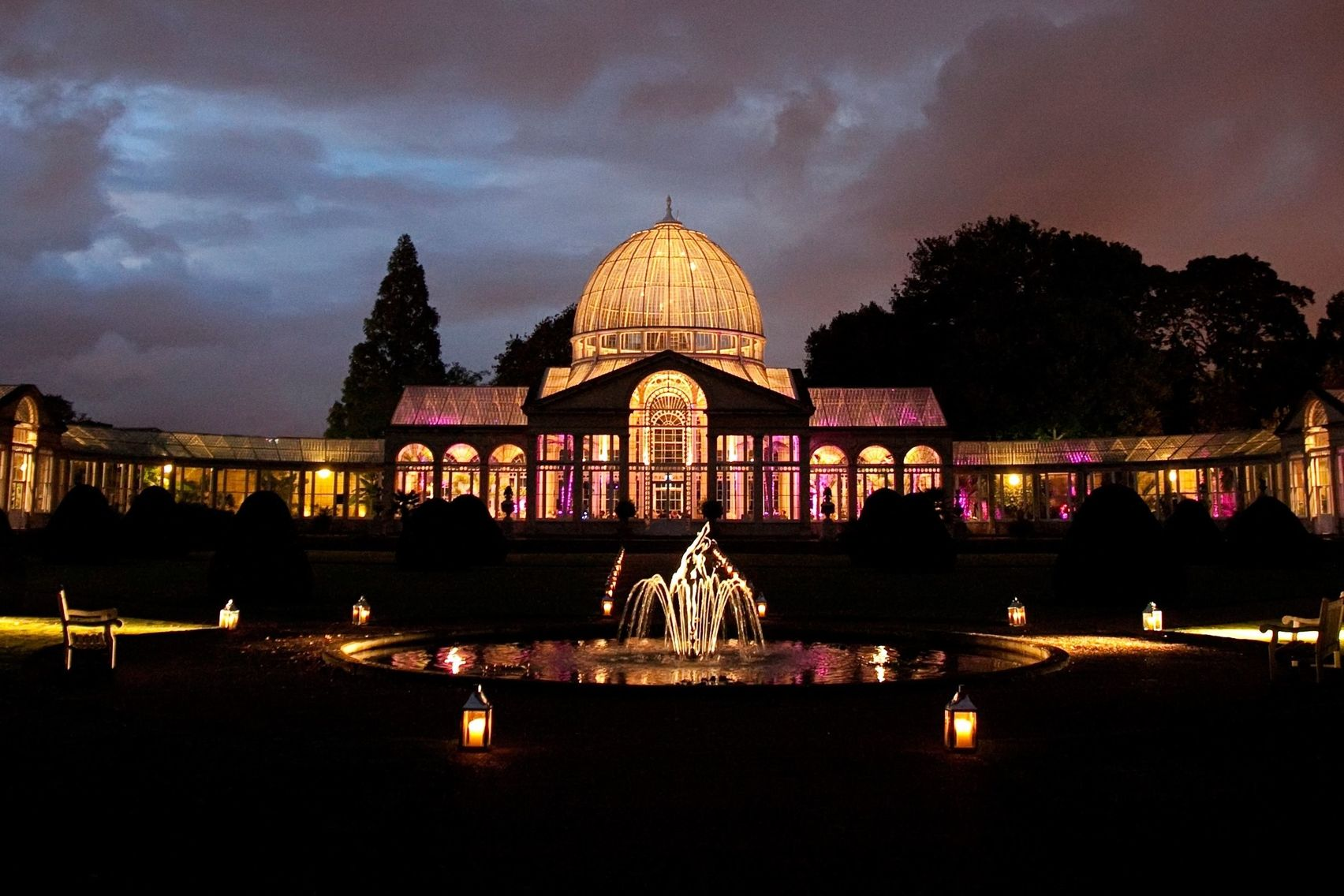 Syon house and the Great Conservatory , Syon Park