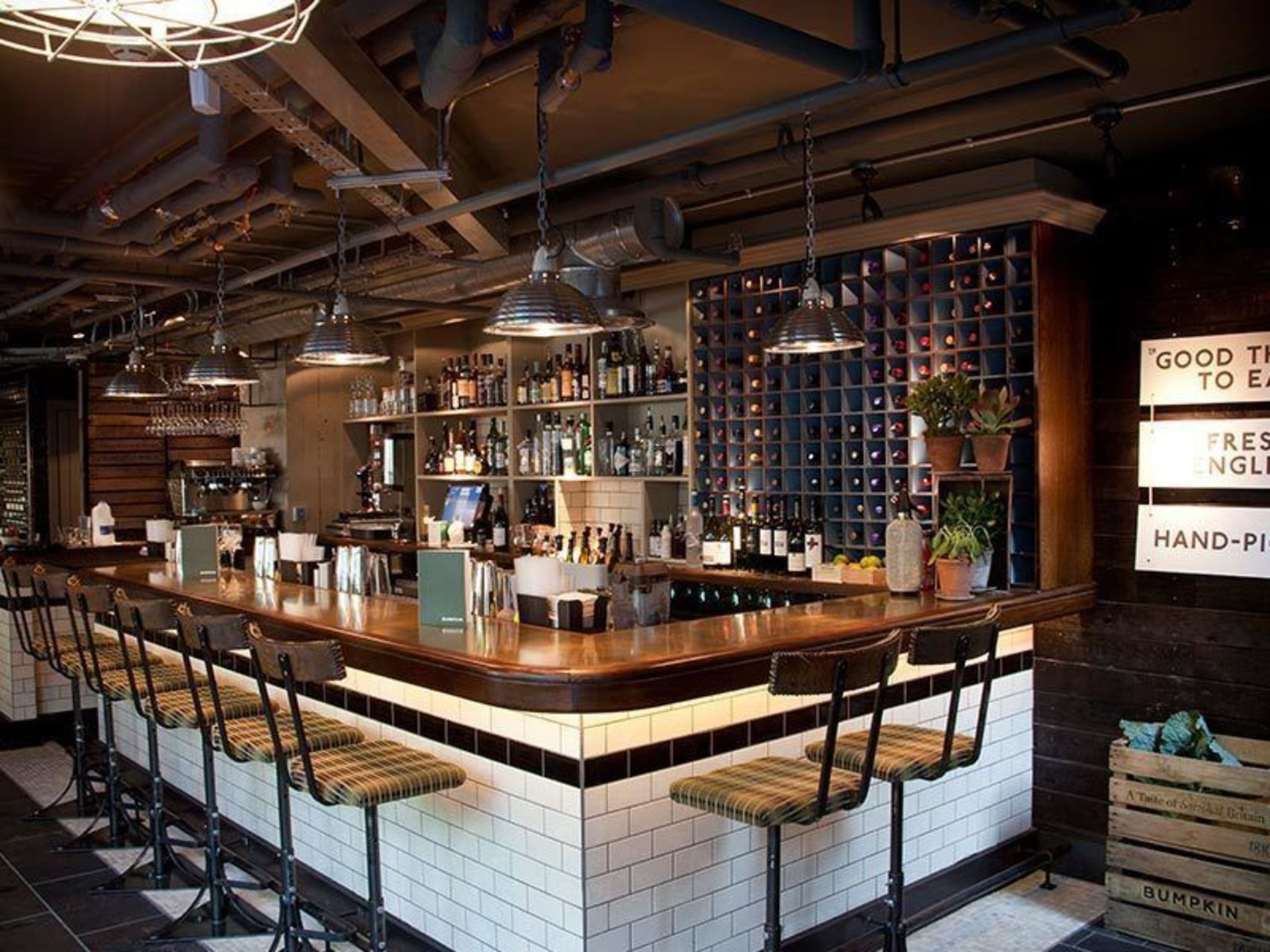 Lunch, The Loft Bar, Bumpkin Westfield Stratford