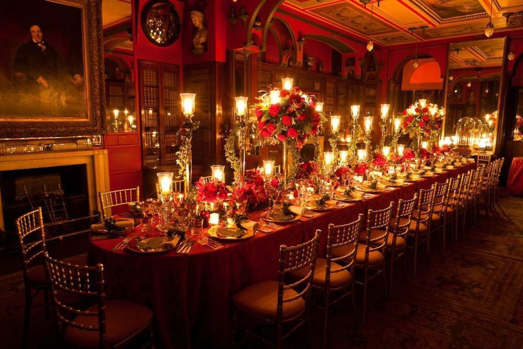 Dinner with candlelit tours, whole Museum hire, Sir John Soane's Museum