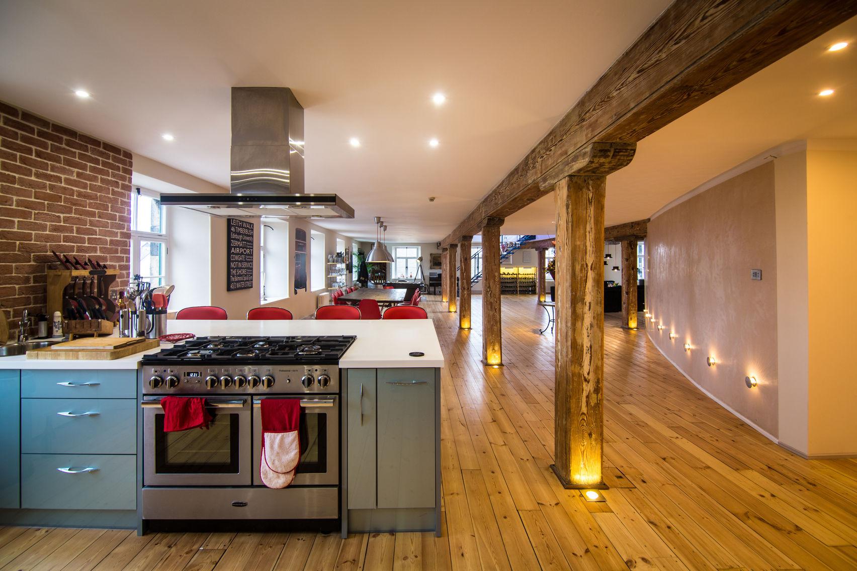 A NYC-style Penthouse in Edinburgh, TB3