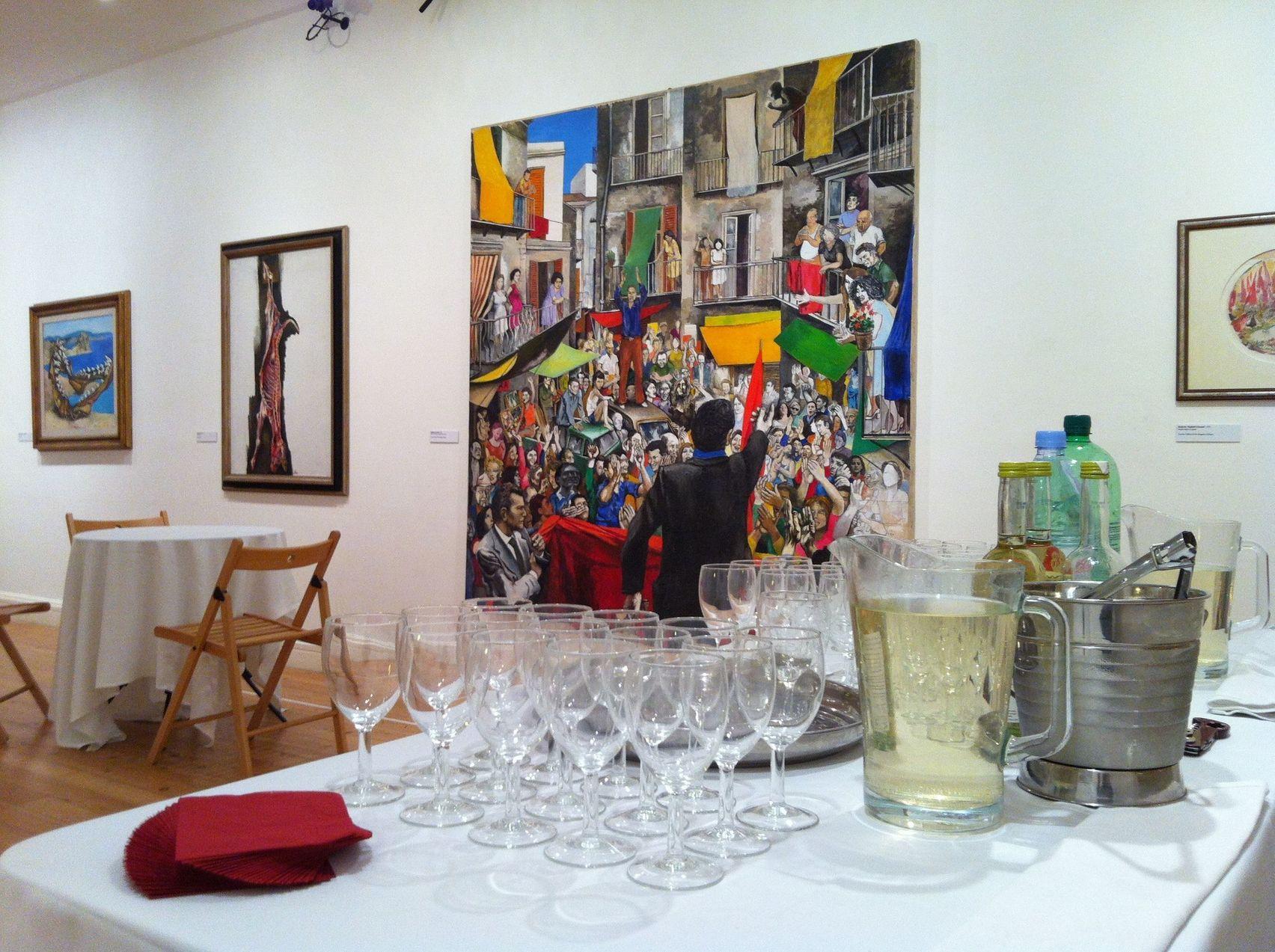 Galleries 1 & 2, Estorick Collection