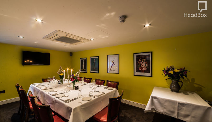 Dinner, Private Dinning Room, Brasserie Gustave