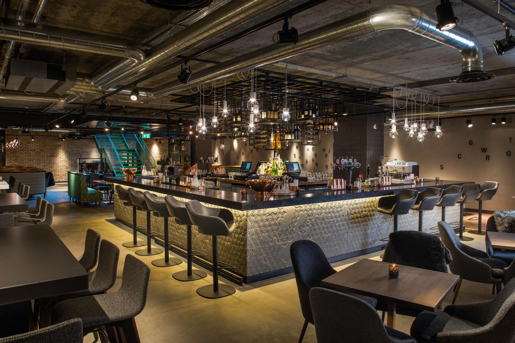 Basement Bar, Evening Hire, Drake & Morgan at Kings Cross