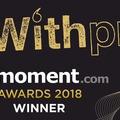 Small prmoment winner signature logo