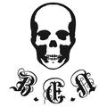 Small skull ben logo