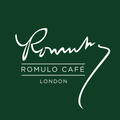 Small romulo cafe logo green